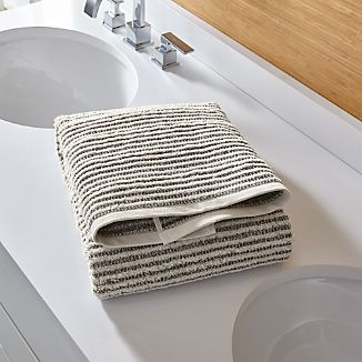Rowan Striped Bath Towel