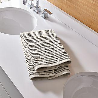 Rowan Striped Hand Towel