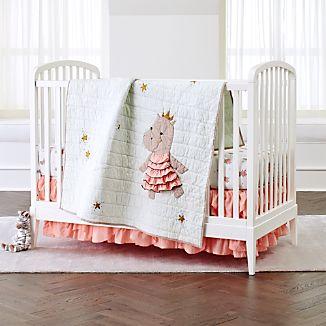 Royal Hippo Crib Bedding 3 Piece Set