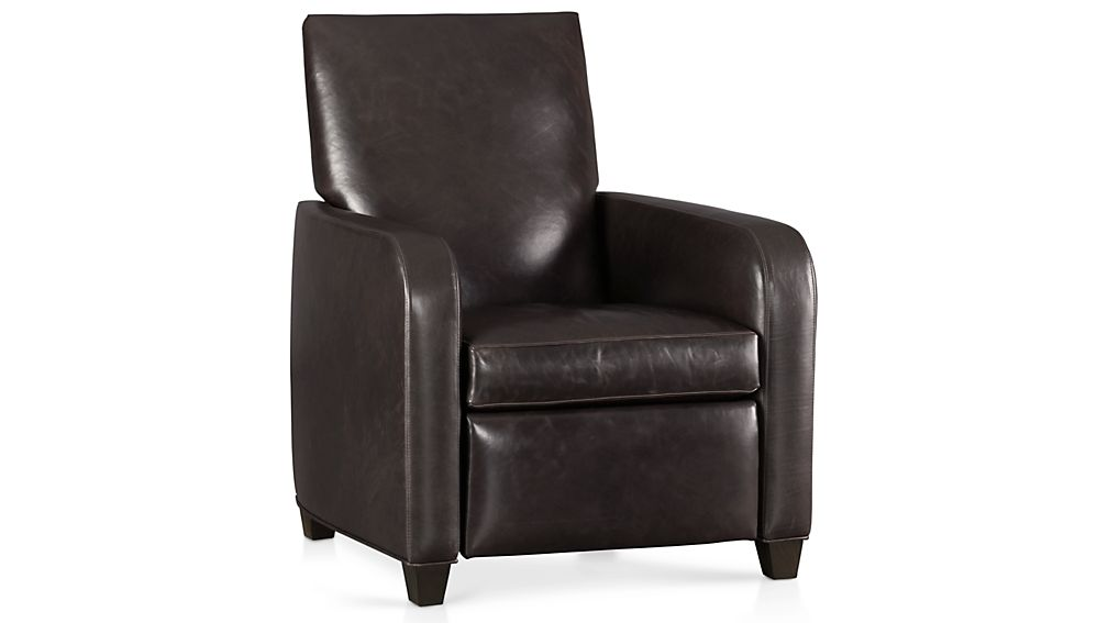 ... Royce Leather Recliner ...  sc 1 st  Crate and Barrel & Royce Leather Recliner | Crate and Barrel islam-shia.org