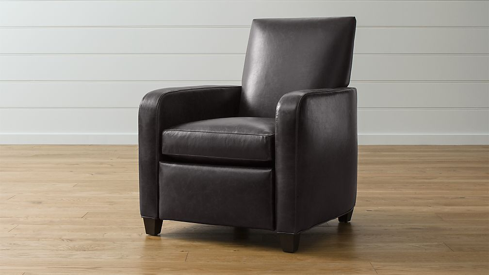 Royce Leather Recliner ... & Royce Leather Recliner | Crate and Barrel islam-shia.org