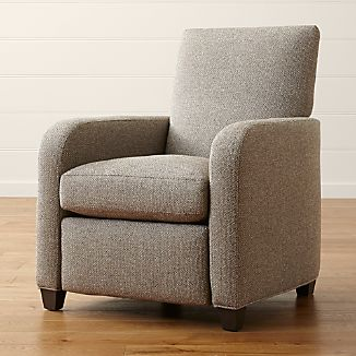 Eco friendly furniture Bamboo Royce Recliner Citrus Sleep Eco Friendly Furniture Crate And Barrel