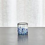 Rue Blue Tealight Candle Holder