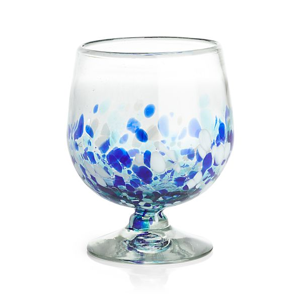 RueCocktailGlassBlue32ozS17