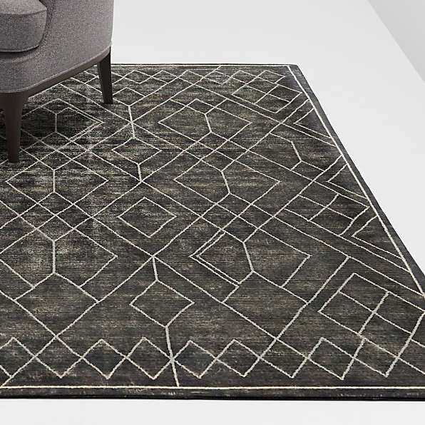 Solid Color Modern Minimalistic Abstract Pattern Custom Area Rugs Floor Carpets