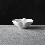 White Ruffle 5.5  Dip Bowl