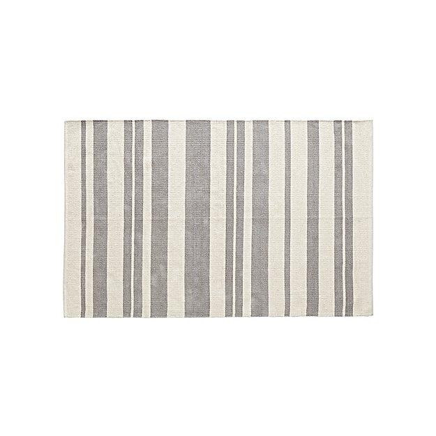 Rug Barcode Grey Silo