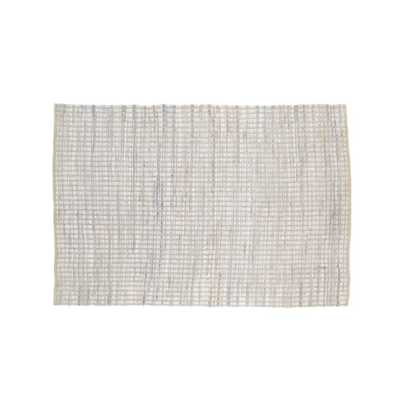 8x10 White Rag Rug Reviews Crate And Barrel