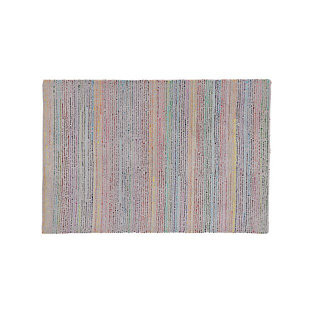 Tufted 4x6' Rainbow Rug + Reviews