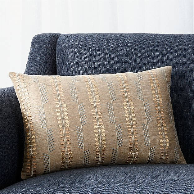 Natural Throw Pillow Inserts : Russel Natural 18