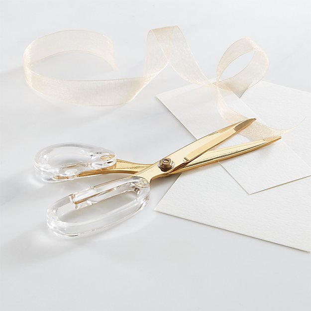 Russell + Hazel Gold and Acrylic Scissors - Image 1 of 3