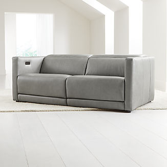 Russo Leather Power Reclining Sofa