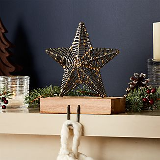 Rustic Star Stocking Hook