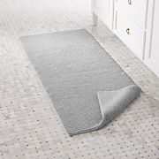 Long Bath Rugs Crate And Barrel