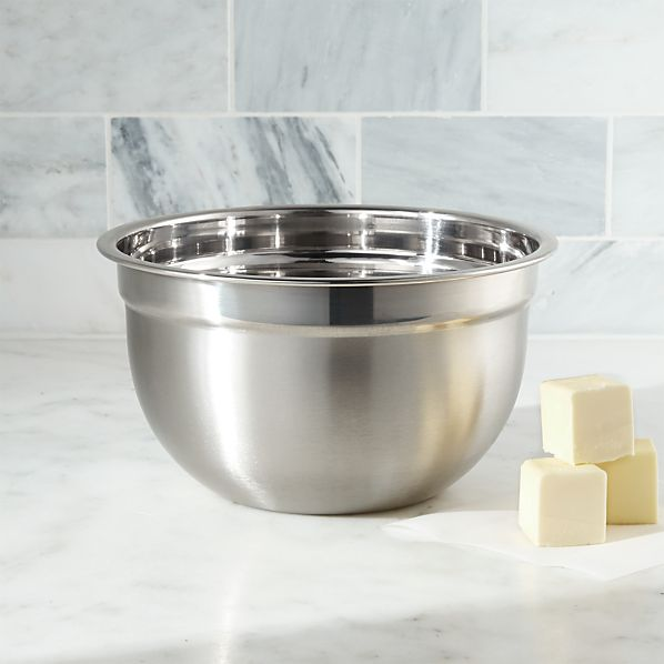 Stainless Steel 3-Quart Bowl