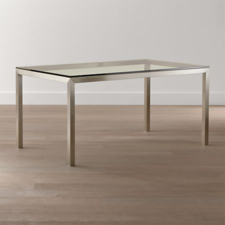 Stainless Steel Base Dining Tables
