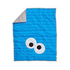 Sesame Street All Eyes Cookie Monster Crib Bedding Crate