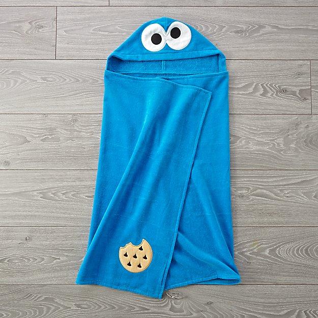 ecacfdb55bec Sesame Street Cookie Monster Hooded Towel + Reviews