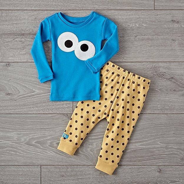 4e1f90b31eea Sesame Street Cookie Monster 3T Pajama Set + Reviews