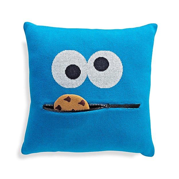 Sesame Street Cookie Monster Knit Throw Pillow Reviews