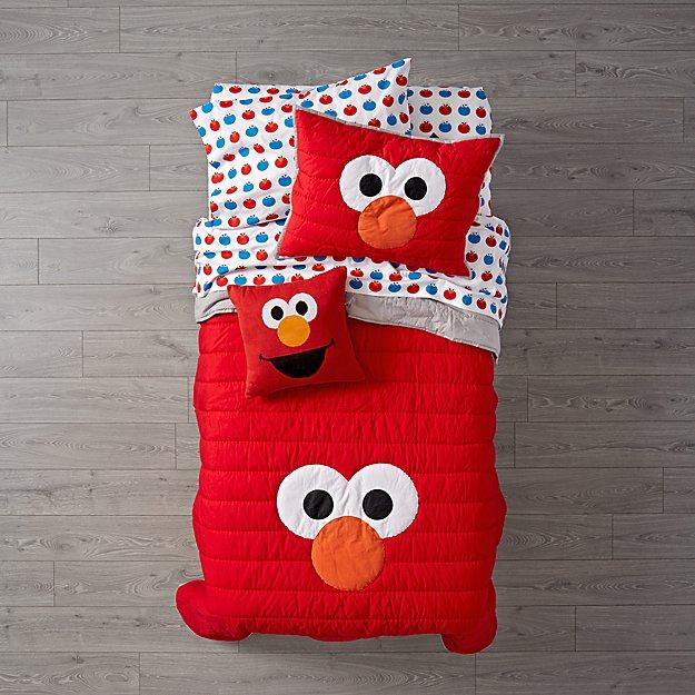 Sesame Street All Eyes Elmo Bedding  60ef7133b