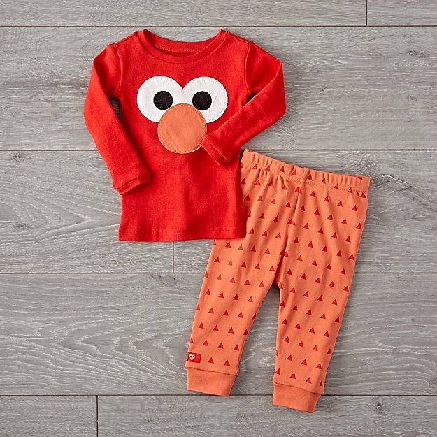 b8344d8e6a Sesame Street Elmo Pajama Set