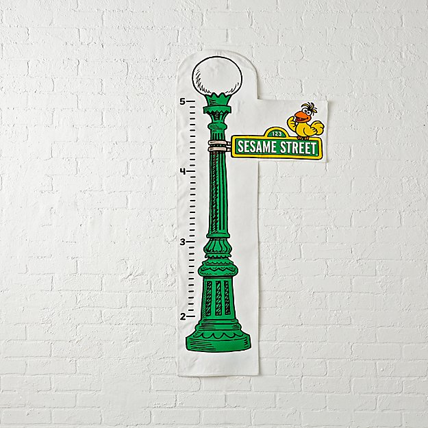 Sesame street sign growth chart reviews crate and barrel aloadofball Image collections