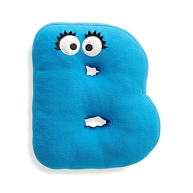 Sesame Street Letter B Throw Pillow + Reviews