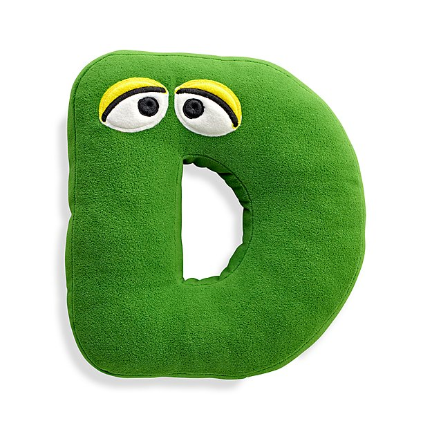 Sesame Street Letter D Throw Pillow Reviews Crate And