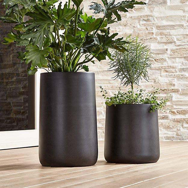 Saabira Fiberstone Planters - Image 1 of 12
