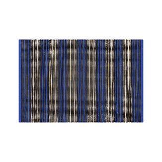 Sachi Blue Stripe Indoor/Outdoor 2'x3' Rug