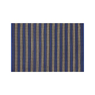 Sachi Blue Stripe Indoor/Outdoor 4'x6' Rug