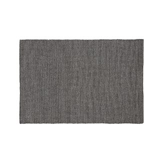 Salome Charcoal Grey Indoor/Outdoor 6'x9' Rug