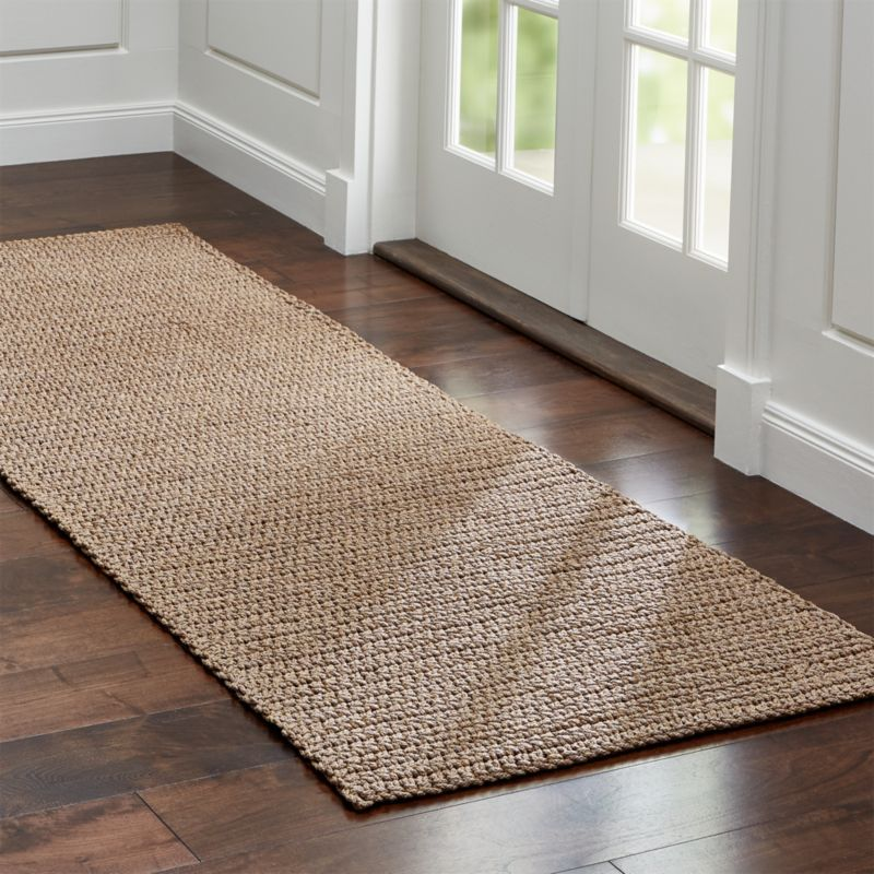 Salome Sand Indoor Outdoor 2 5 X8 Rug Runner