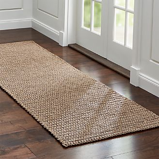 Salome Indoor Outdoor Sand Chunky Rug Runner ...