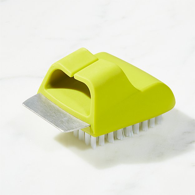 Salt Plate Scrub Brush