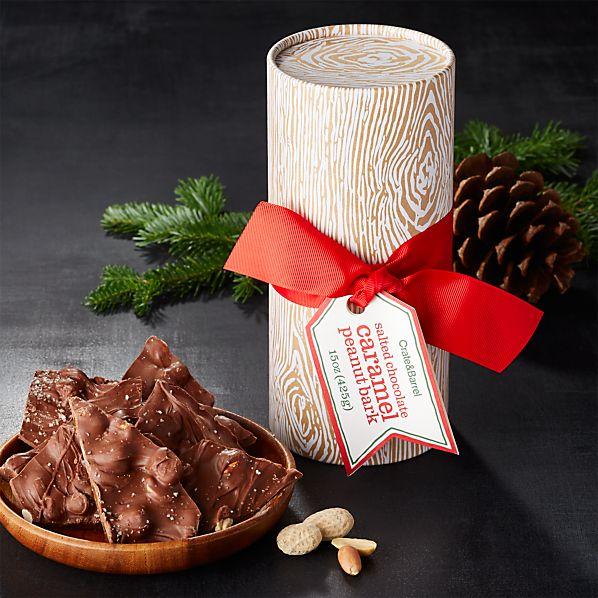 Salted Chocolate Caramel Peanut Bark
