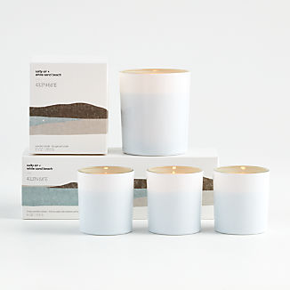 Salty Air and White Sand Beach Scented Candles