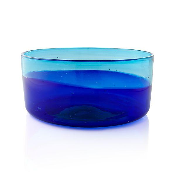 Salud Azul Serving Bowl