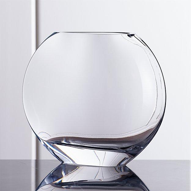 Samara Large Glass Vase Crate And Barrel