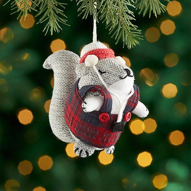 Samuel the Squirrel Ornament