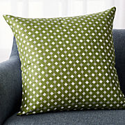 Green Throw Pillows   Crate and Barrel