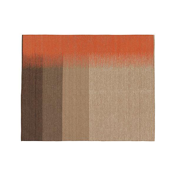 Sanderson Wool Dhurrie 8'x10' Rug
