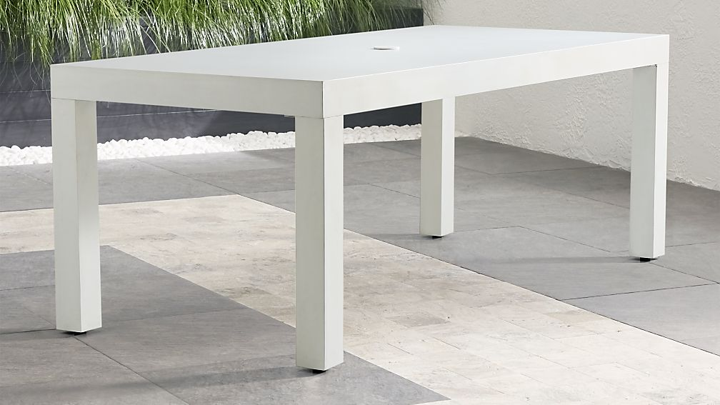 "Sandstone 79"" Rectangular Dining Table - Image 1 of 8"