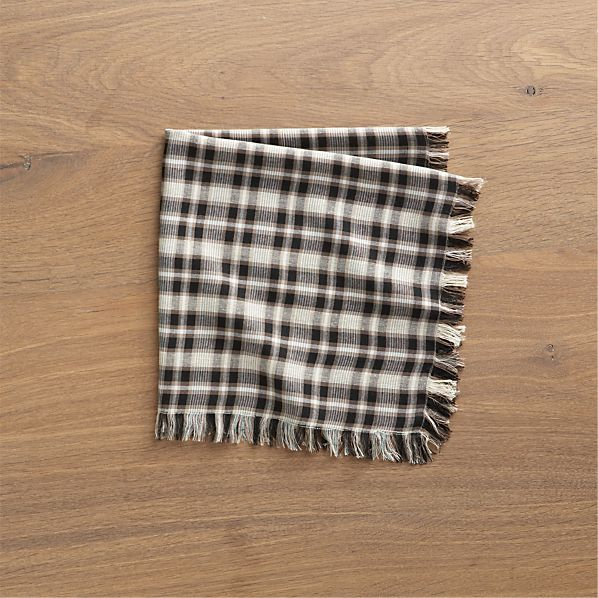 Sandy Plaid Napkin