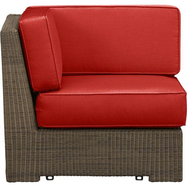 Sanibel Modular Corner with Sunbrella ® Caliente Cushions