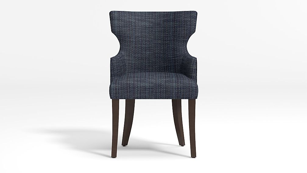 Sasha Upholstered Dining Arm Chair - Image 1 of 5