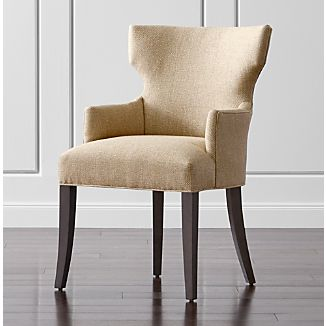 Beau Sasha Upholstered Dining Arm Chair