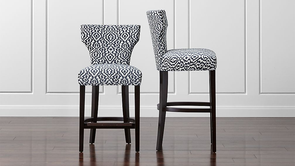 Sasha Upholstered Bar Stools - Image 1 of 5