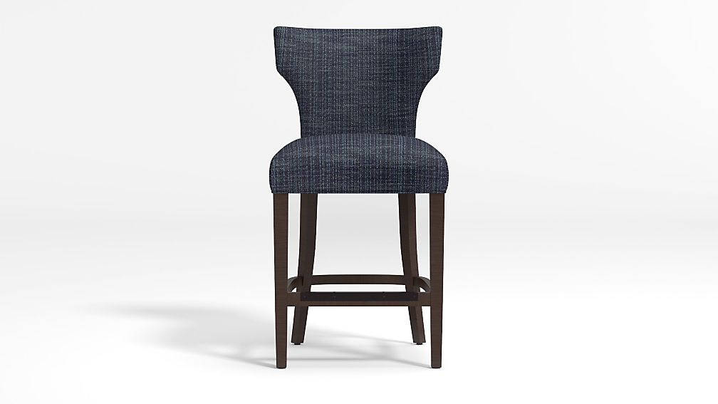 Sasha Upholstered Counter Stool - Image 1 of 2